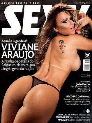 Viviane Araujo: capa da