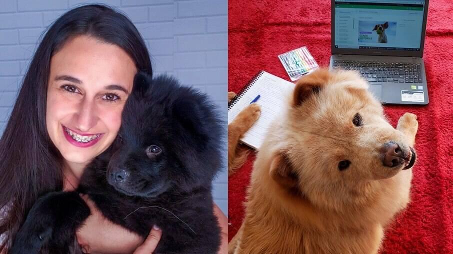 Fernanda Rabaglio é a idealizadora da Matilha Brasil,uma escola para pet influencers