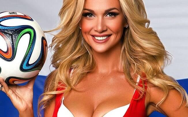 Victoria Lopyreva, musa da Copa das Confederações 2017