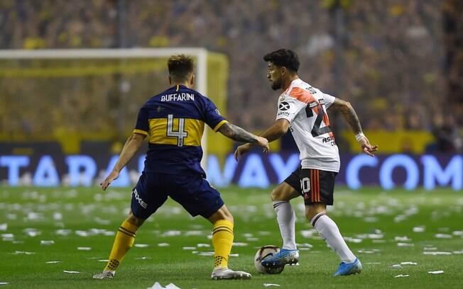 Casco é dúvida para jogo contra o Palmeiras