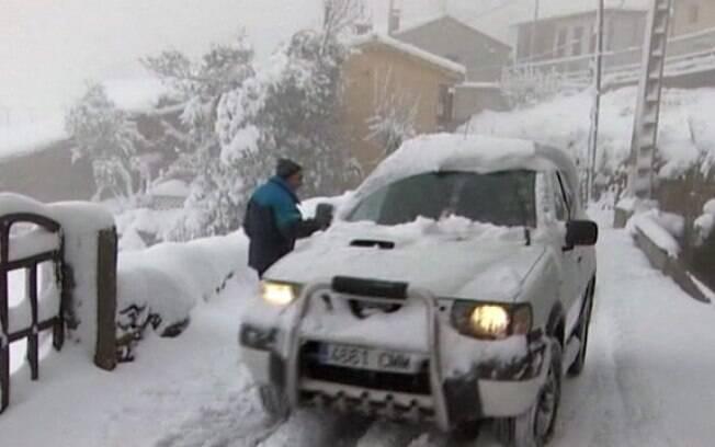 No norte da Europa, na Suécia, recordes foram quebrados com maiores volumes de neve em 50 anos