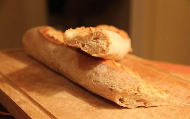 Foto da receita Baguete pronta.