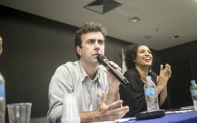 Marielle Franco foi assessora de Marcelo Freixo antes de ser eleita vereadora com a quinta maior votação da Câmara Municipal do Rio