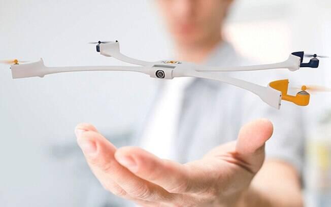 Nixie, câmera de pulso que funciona como um drone, venceu o Desafio Intel Make it Wearable