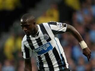 O meia francês Sissoko defende o Newcastle, da Inglaterra