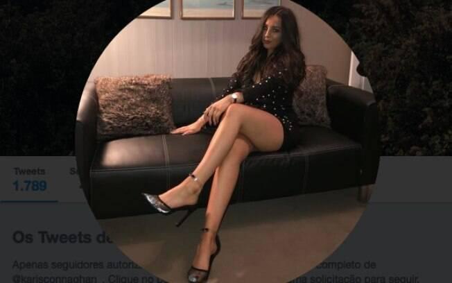 Karis Connaghan foi vítima da traição do namorado e expôs o caso no Twitter, com direito a alerta para outras mulheres