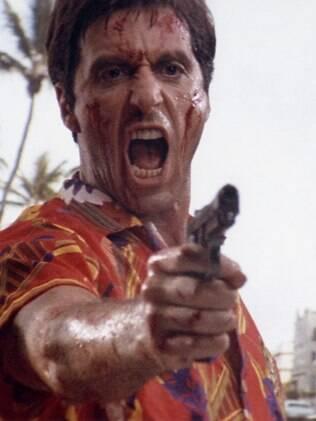 Al Pacino como Tony Montana em