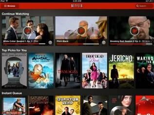 Netflix é serviço de filmes e série online