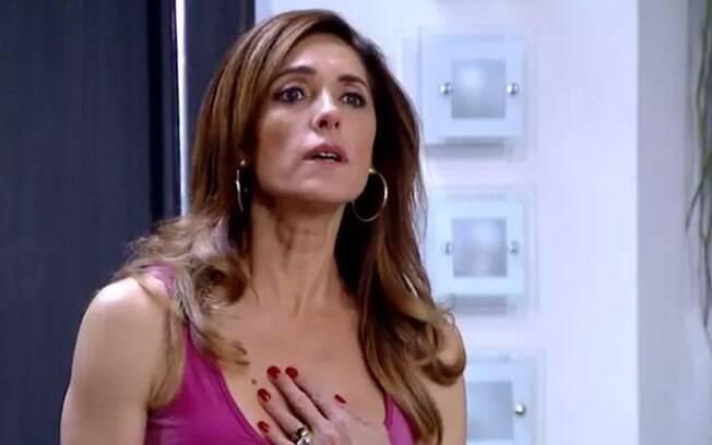 Tereza Cristina fica revoltada ao descobrir que foi traída