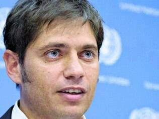Apelo. Axel Kicillof, ministro da Economia, vai participar da reunião da OEA nesta quinta-feira