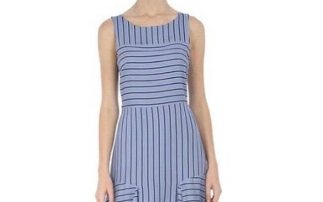 Vestido Est Listra Recanto Azul Maria Filó por R$ 148,90 na promoção