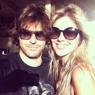 Ellen Jabour e o namorado, Jonathan Correa