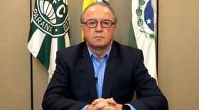 Presidente do Coritiba está em estado grave