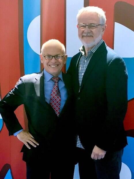 executivos das Globo e Warner Bros