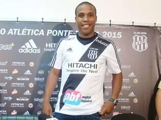 Borges fará sua estreia pela Ponte Preta no amistoso contra o Orlando City