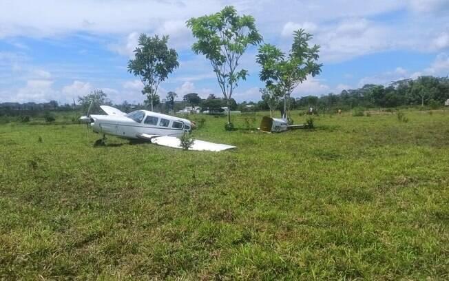 Avião caiu próximo ao Acre