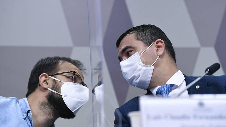 Luis Ricardo Fernandes Miranda e seu irmão, o deputado federal Luis Miranda (DEM-DF)