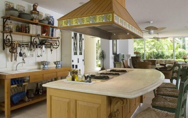 6 dicas para fazer uma cozinha com ilha bonita e funcional  Dicas para a Cas # Ilha Cozinha Em Alvenaria