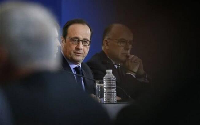 O presidente francês, nesta sexta: