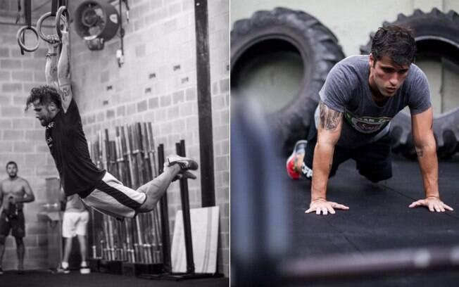 Ator Bruno Gagliasso costuma compartilhar seus momentos de treinos no Instagram