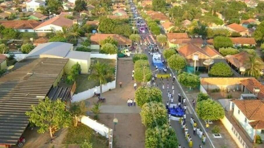 Lambari D'Oeste, a 318Km de Cuiabá