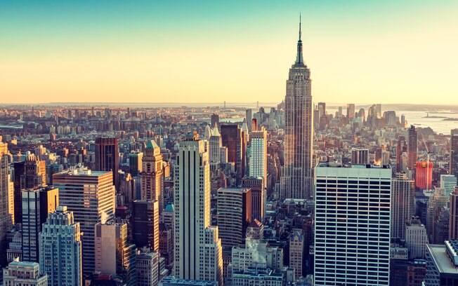 Nova York, nos Estados Unidos, é uma das principais metrópoles do mundo