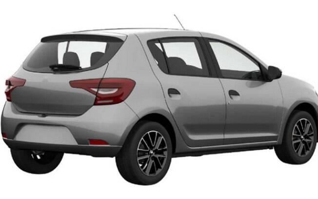 Traseira da versão renovado do Renault Sandero será uma das novidades para tentar aumentar as vendas do hatch