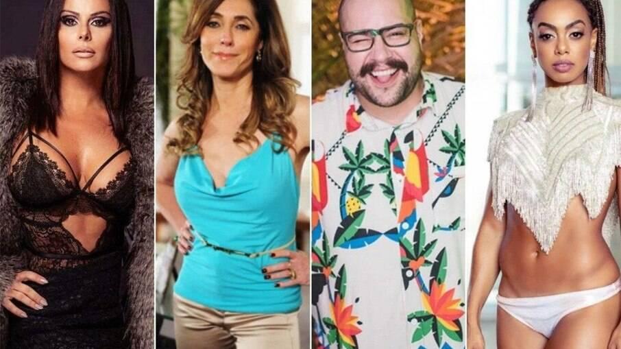 Dandara Mariana, Tiago Abravanel, Viviane Araújo e Christiane Torloni