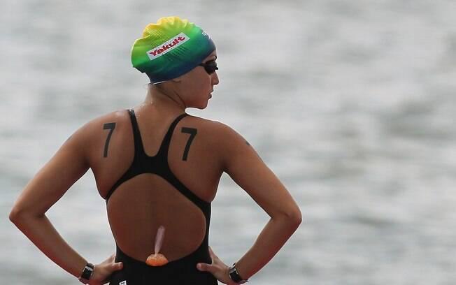 Poliana estreou na maratona na Travessia dos  Fortes, em 2005. Ela venceu a prova
