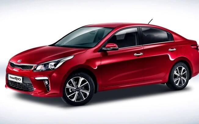 Kia Rio: o belo sedã coreano conseguiu quebrar a hegemonia dos modelos da  Lada e lidera o mercado russo