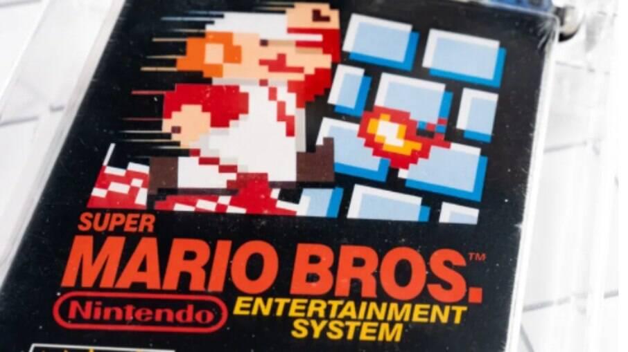 Cartucho de Super Mario Bros.
