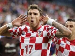 Mandzukic é um dos principais jogadores da Croácia