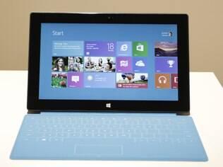Surface, o tablet da Microsoft, chega em outubro
