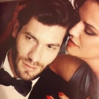 Roni Mazon posou com Luiza Brunet em um editorial