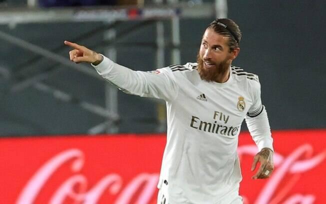 Sergio Ramos ainda não acertou renovação com o Real Madrid