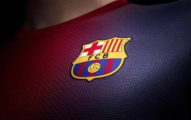 Foto  Divulgação Uniforme 1 do Barcelona para a próxima temporada. Foto  Divulgação  Publicidade ... bda159dd50a8f