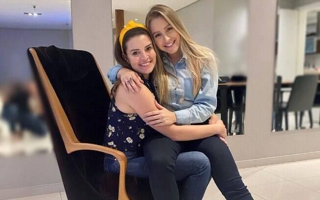 Renata Del Bianco e Carla Diaz