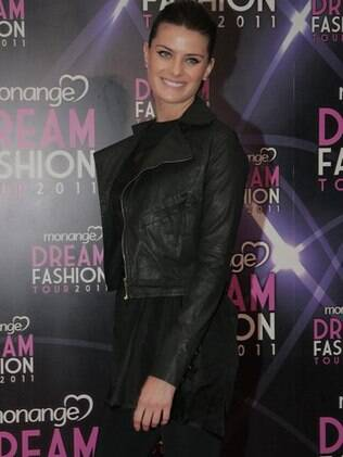 Isabeli Fontana é estrela do Monange Dream Fashion Tour