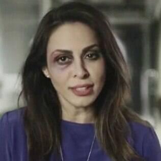 Alinne Rosa participa da campanha '16 Dias de Ativismo pelo Fim da Violência Contra a Mulher'