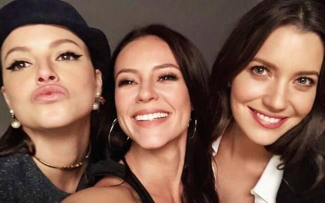 Agatha Moreira, Paolla Oliveira e Nathalia Dill