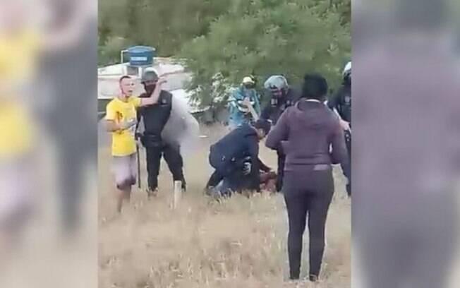 Tentativa de ocupação em terreno gera confusão no Satélite Íris, em Campinas