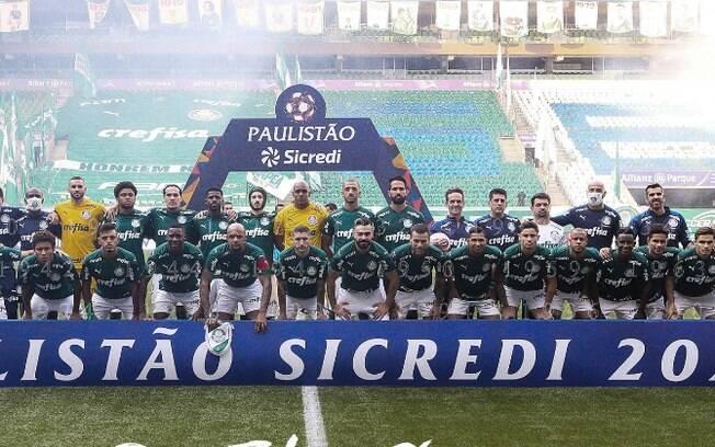 Palmeiras foi campeão paulista em cima do Corinthians