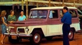Conheça o clássico Rural Willys feito no Brasil
