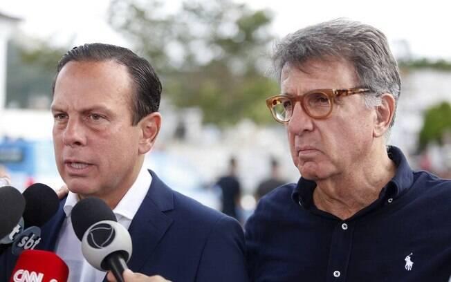 Empresário se filiou ao PSDB após romper com Bolsonaro e aceitar convite do governador João Doria