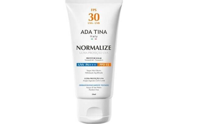 Protetor solar Normalize Ada Tina FPS 30