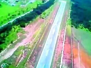 Obra.   A pista de Cláudio foi transformada em aeroporto em 2010, com investimento de R$ 13,9 milhões do Programa Aeroportuário (ProAero)