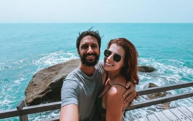 Viajando desde março de 2019, Ricardo Sorrenti e Juliana Maia tiveram os planos suspensos pela Covid-19