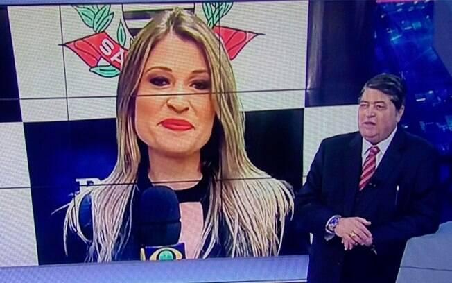 A repórter Bruna Drews acusa o jornalista e apresentador Datena de assédio sexual