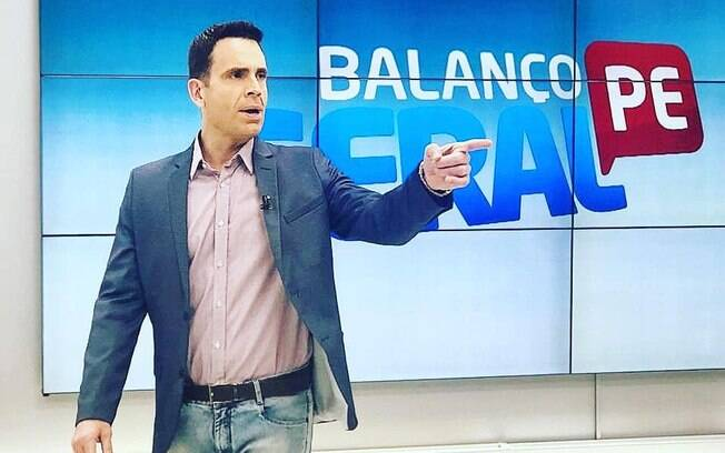 Eduardo Moura, jornalista da Record TV