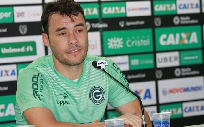 Renato Cajá no Goiás, seu último clube